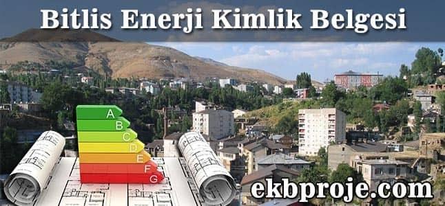 Bitlis Enerji Kimlik Belgesi