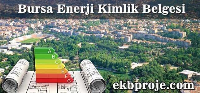 Bursa Enerji Kimlik Belgesi
