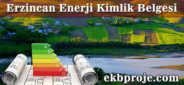 Erzincan Enerji Kimlik Belgesi