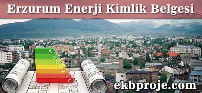 Erzurum Enerji Kimlik Belgesi