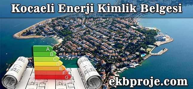 Kocaeli Enerji Kimlik Belgesi