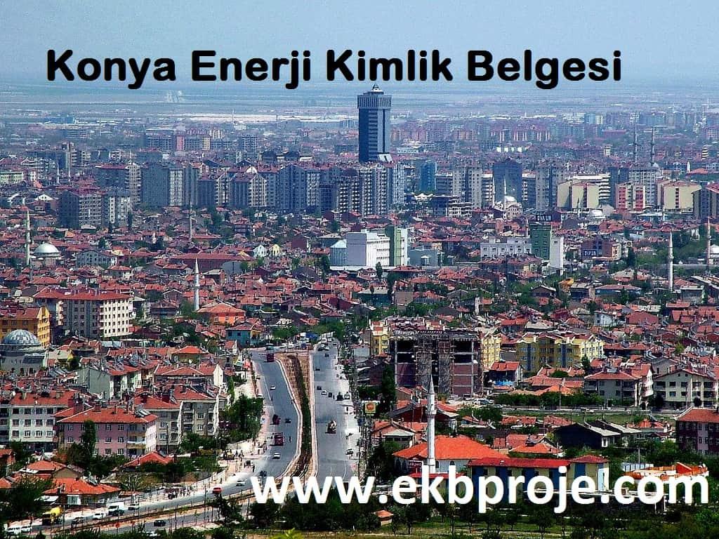 Konya enerji kimlik belgesi