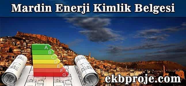 Mardin Enerji Kimlik belgesi