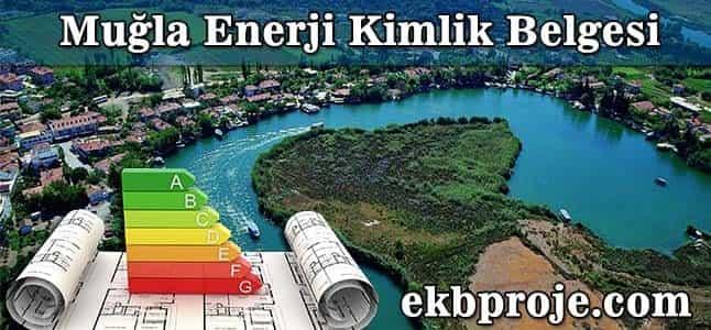 Muğla Enerji Kimlik belgesi
