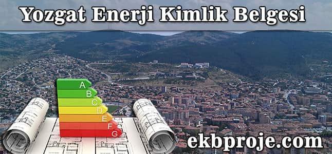 Yozgat  Enerji Kimlik Belgesi