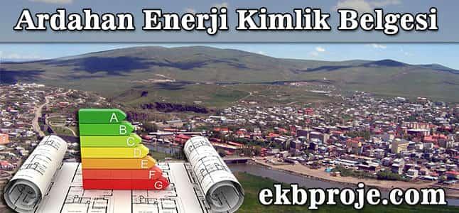 Ardahan Enerji Kimlik Belgesi