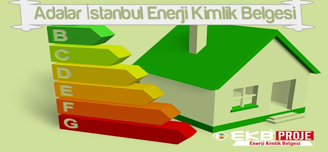 Adalar İstanbul Enerji Kimlik Belgesi
