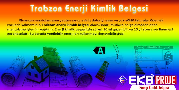 Trabzon Enerji Kimlik Belgesi