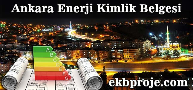 Ankara Enerji Kimlik Belgesi
